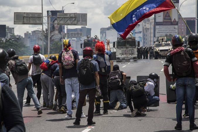 """Torrealba considera que las protestas de calle de 2017 tuvieron """"un costo muy alto"""" / EFE: José Sierralta"""