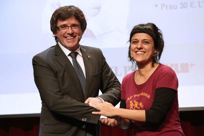 El PDeCAT de Carles Puigdemont y la CUP comparten tan sólo el independentismo / Foto: Generalitat de Cataluña
