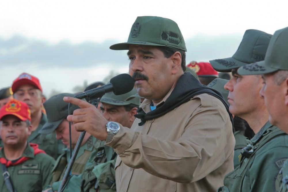El régimen de Maduro está profundamente militarizado / Foto: nicolasmaduro.org