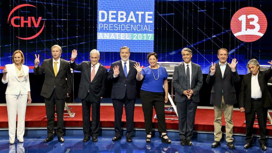 Candidatos Chile