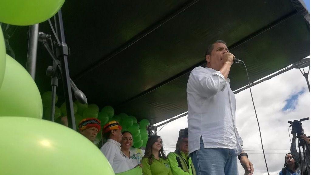 Unidad Popular pide que la Fiscalía de Ecuador solicite medidas cautelares en contra de Correa / Twitter: @35Pais