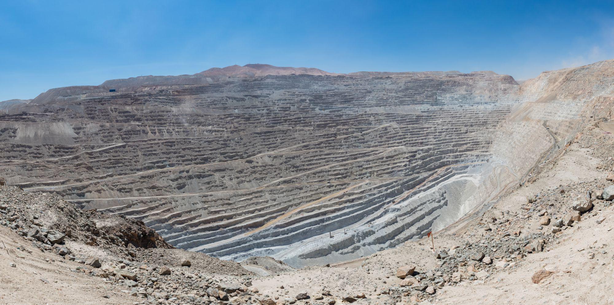El cobre está potenciando la evolución positiva de la economía en Chile / WC: Diego Delso