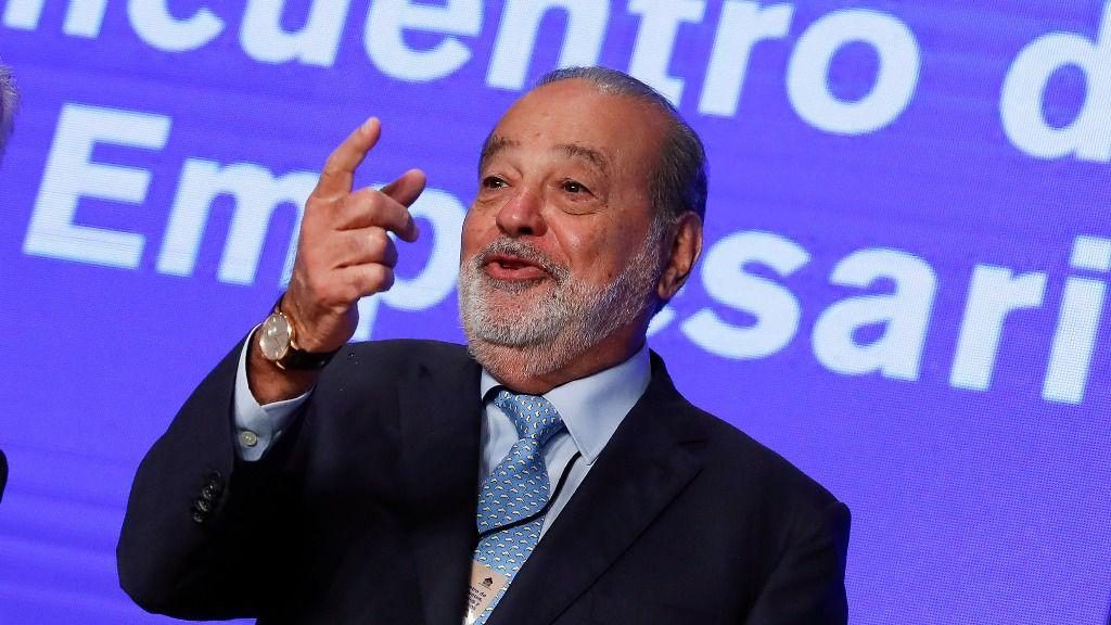 Carlos Slim es la primera fortuna de la región con 64.800 millones de dólares / Foto: David Fernández