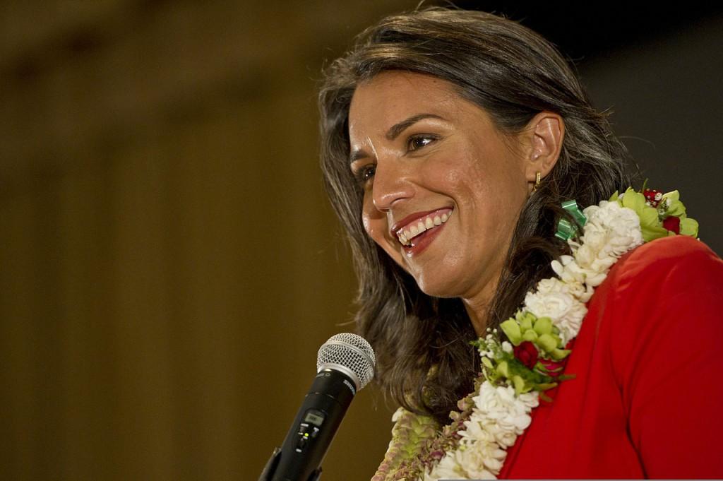 Gabbard fue elegida para representar al segundo distrito de Hawai en el Congreso de Estados Unidos / Foto: WC