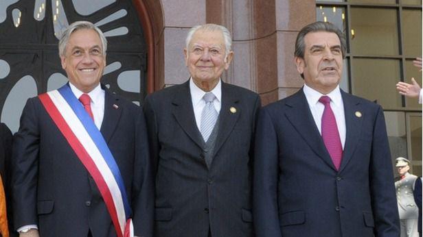 Piñera, Aylwin y Frei