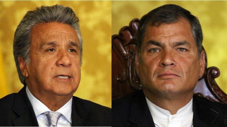 Las disputas entre Moreno y Correa comenzaron en julio / Flickr: Agencia de Noticias Andes