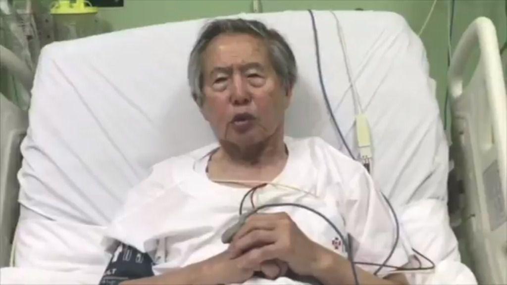 El expresidente peruano Alberto Fujimori pide perdón / Twitter: @albertofujimori