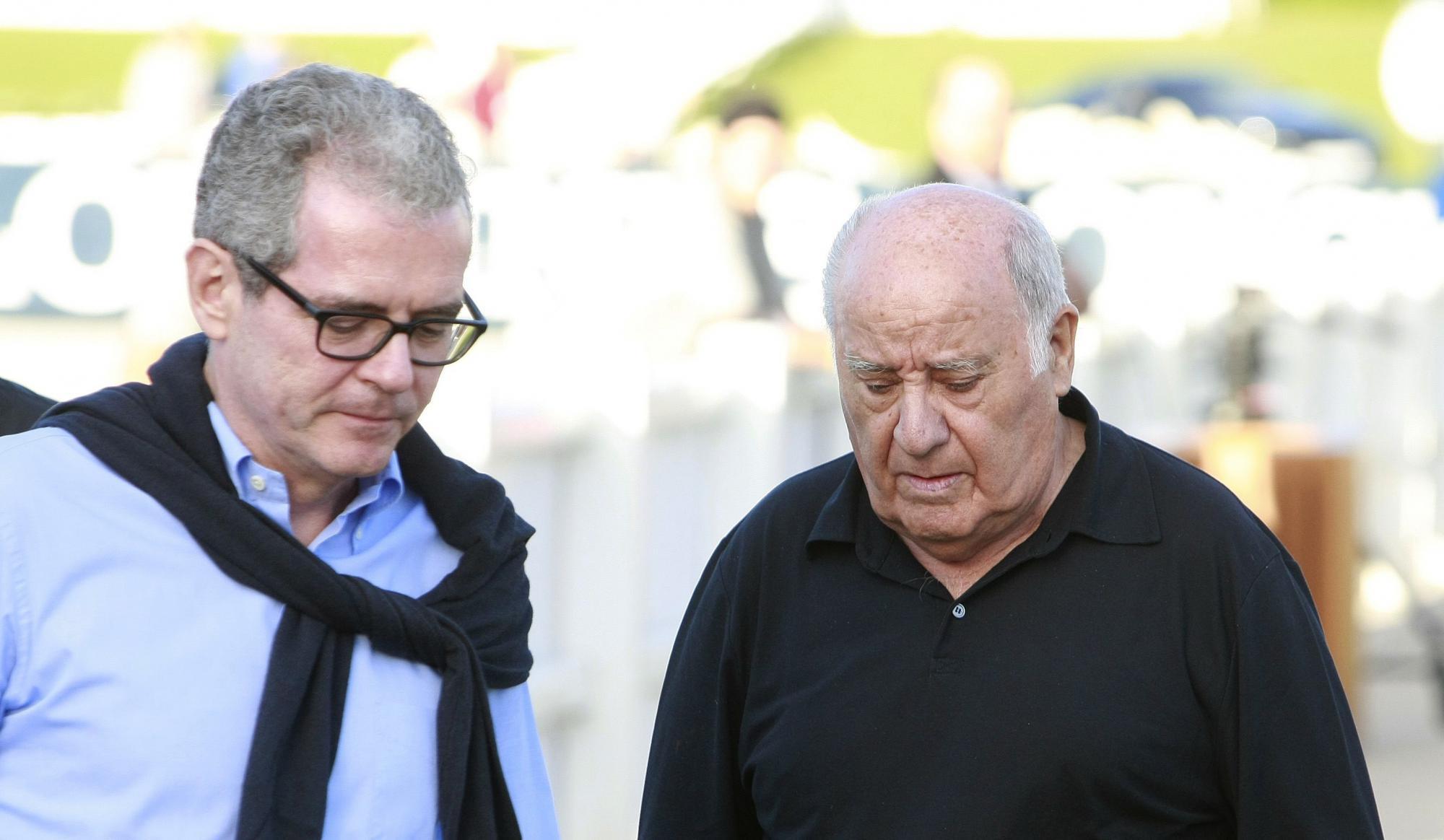 Amancio Ortega entregó la presidencia de Inditex a Pablo Isla en 2011 / EFE: Cabalar