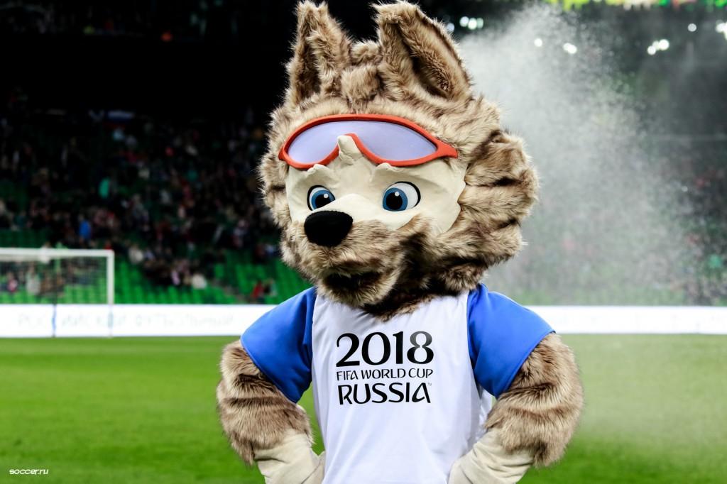 """La mascota de Rusia 2018 se llama Zabivaka, """"el que anota"""" / Foto: WC"""