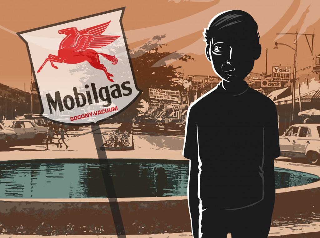 Las antiguas compañías petroleras desaparecieron / Ilustración: Walther Sorg