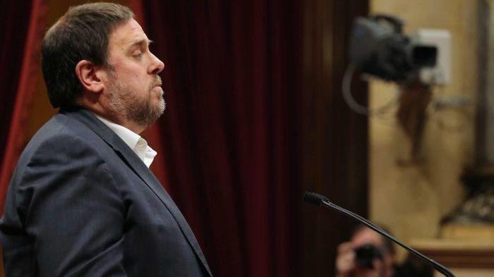 El partido de Oriol Junqueras responsabiliza al Gobierno español de la fuga de empresas / Foto: Parlamento de Cataluña
