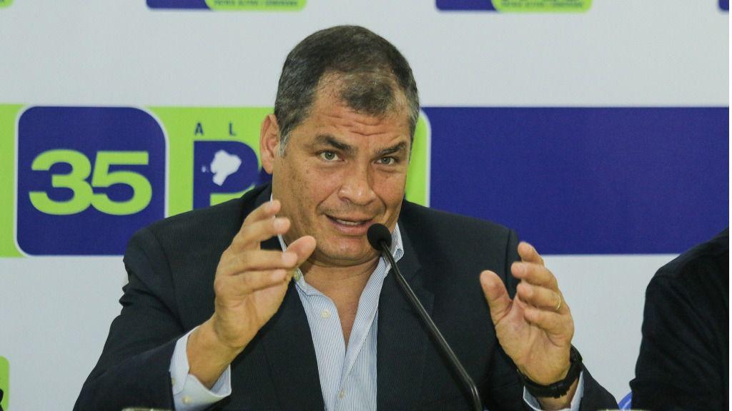 Rafael Correa cree que tras la condena de su vicepresidente ahora irán por él / Flickr: Agencia de Noticias Andes