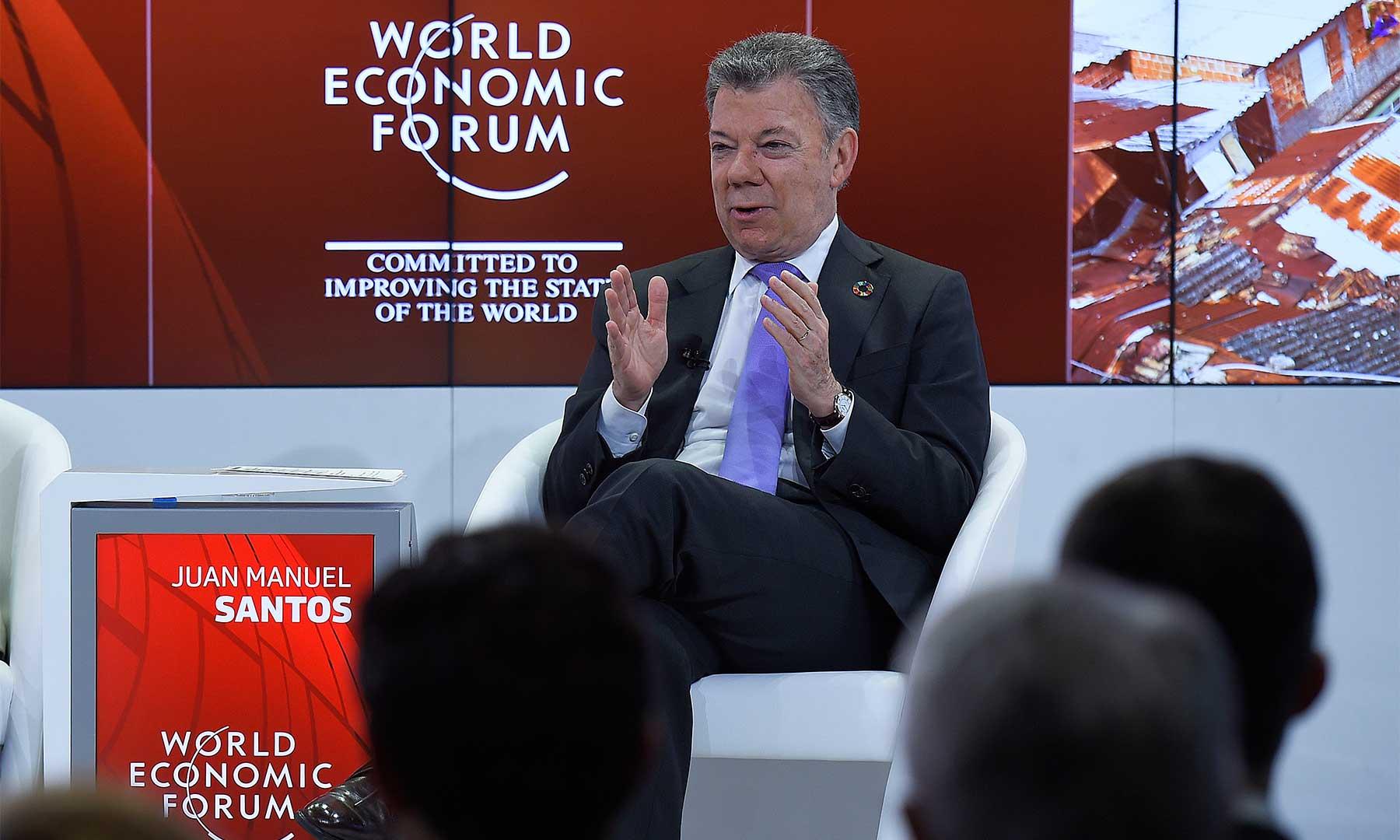 """""""Si no colaboramos con otros países como Brasil, Perú y Ecuador, Colombia no será nada"""" / Foto: Presidencia"""