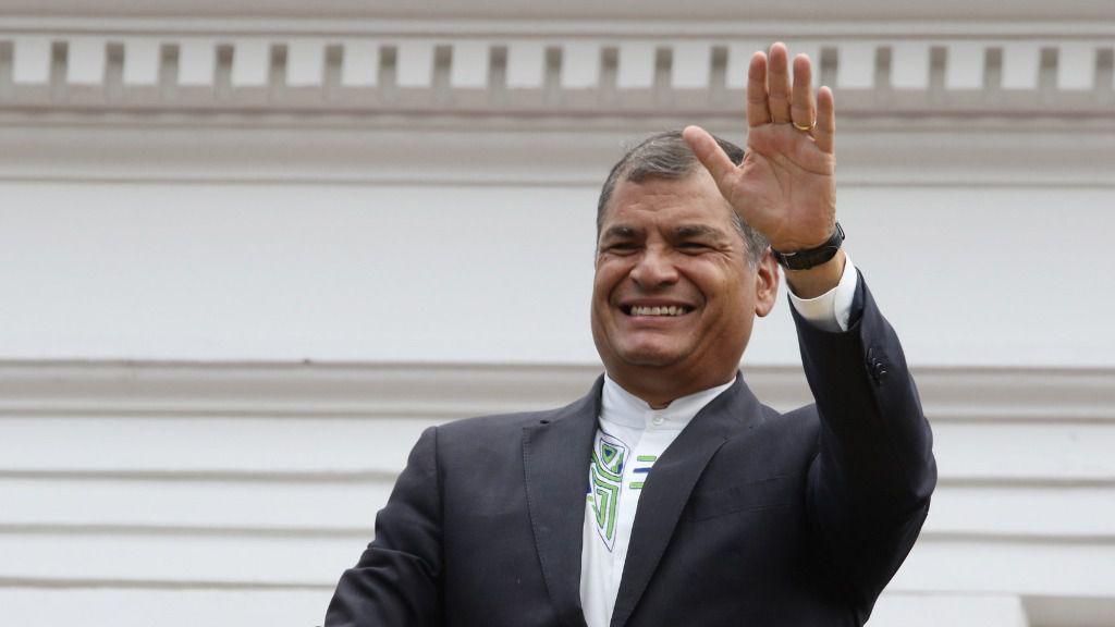 El exmandatario Rafael Correa regresa a Ecuador este jueves / Flickr: Agencia de Noticias Andes