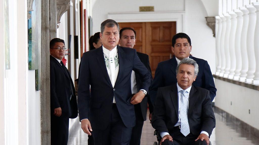 La economía ecuatoriana avanza mientras la política sigue enzarzada / Foto: Presidencia Ecuador