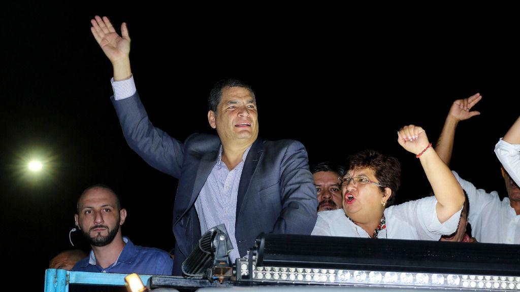 Correa perdería las elecciones frente a Moreno y Lasso, según un sondeo / Flickr: Agencia de Noticias Andes