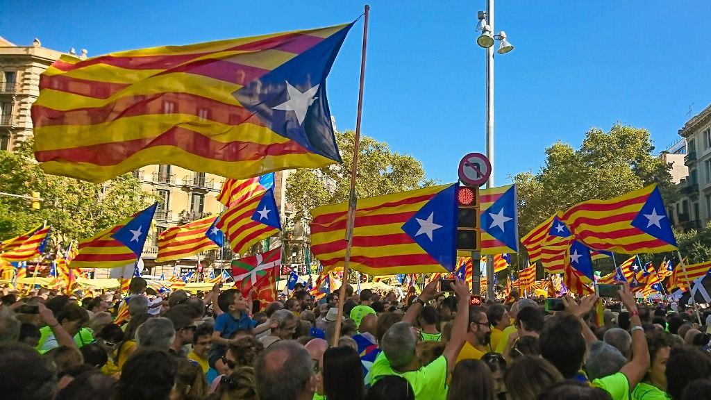 Esteladas Cataluña