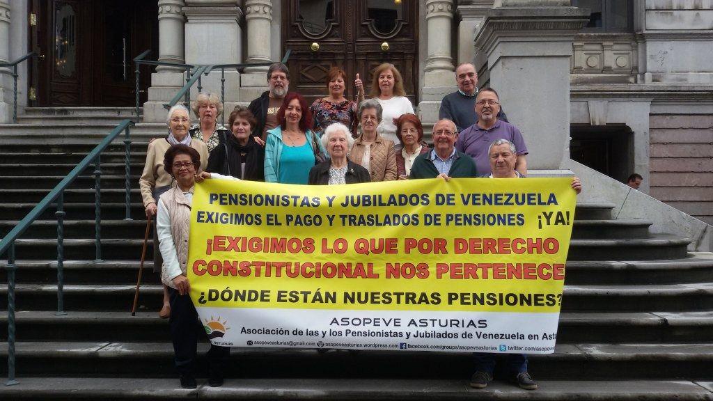 Los más de 9.000 pensionistas venezolanos en España no cobran desde hace dos años / Foto: Asopeve Asturias