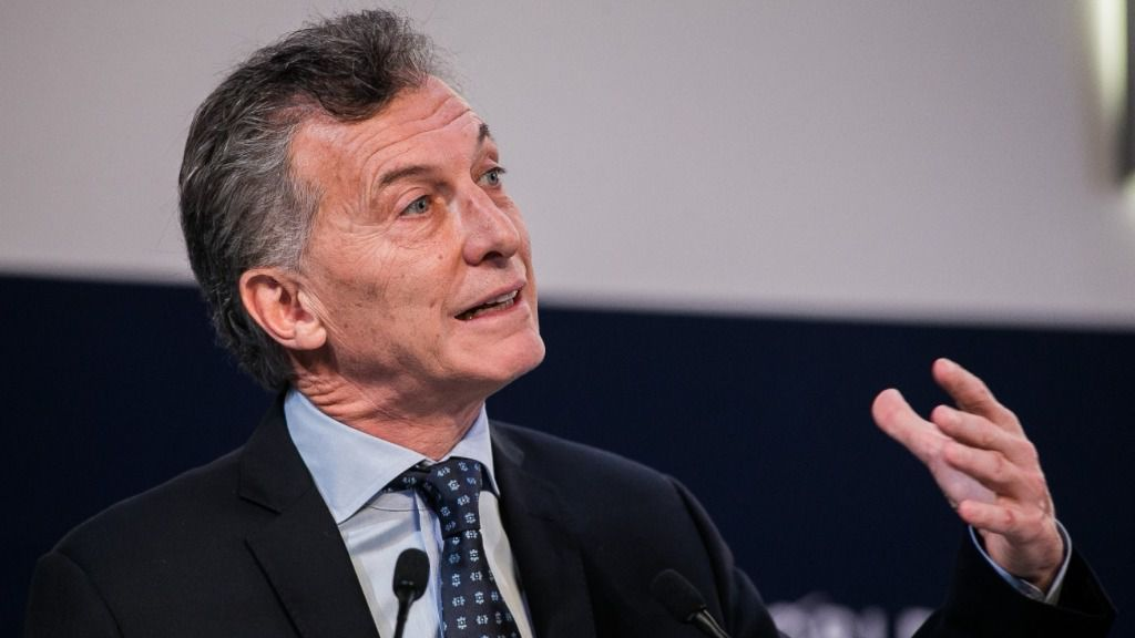 """El presidente de Argentina: """"Hay que ser predecible. Fiable. Eso es lo fundamental"""" / Foto: WEF"""