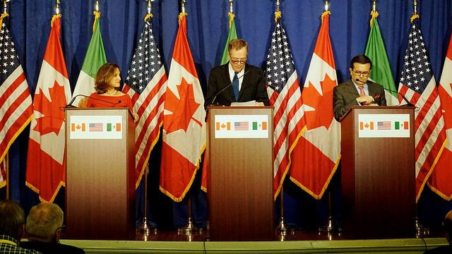 Los negociadores muestran cierto optimismo en la renegociación del TLCAN / Foto: Departamento de Estado de EEUU