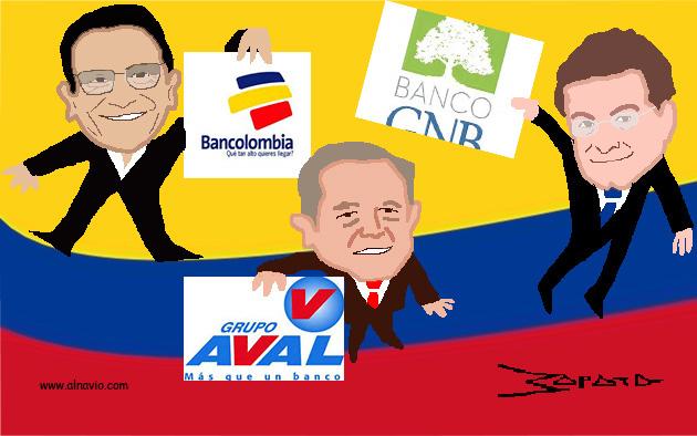 Mariana Zapata ilustró las postales de estas figuras de la banca iberoamericana / Foto: ALN