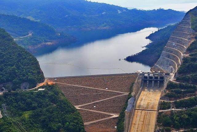 Este es el aspecto que tendrá la mayor central hidroeléctrica de Colombia / Foto: Ituango