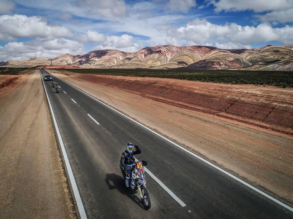 En el Rally Dakar 2018 participan 140 motos / Foto: Dakar