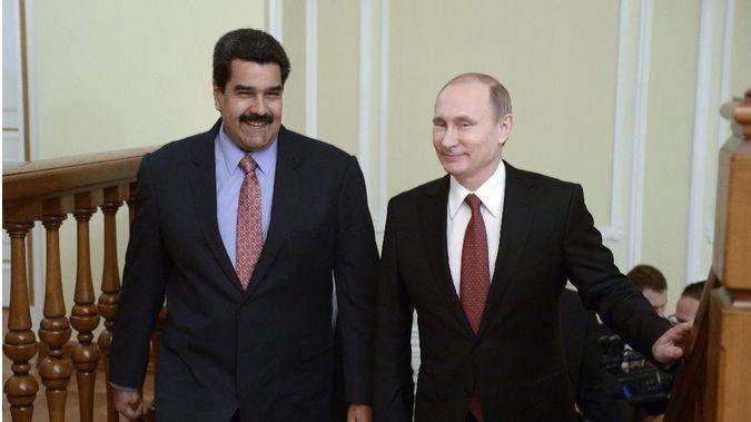 Nicolas Maduro y Putin