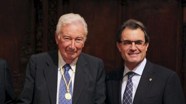 Antoni Vila Casas y Artur Mas
