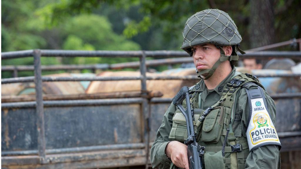 Jaén afirma que en Costa Rica los nicaragüenses son recibidos con actitudes xenófobas / Foto: Policía Nacional Colombia