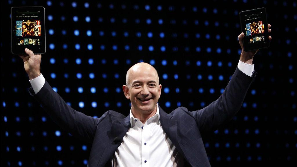 El jefe de Amazon situó en México su centro logístico para América Latina / EFE: Patrick Fallon