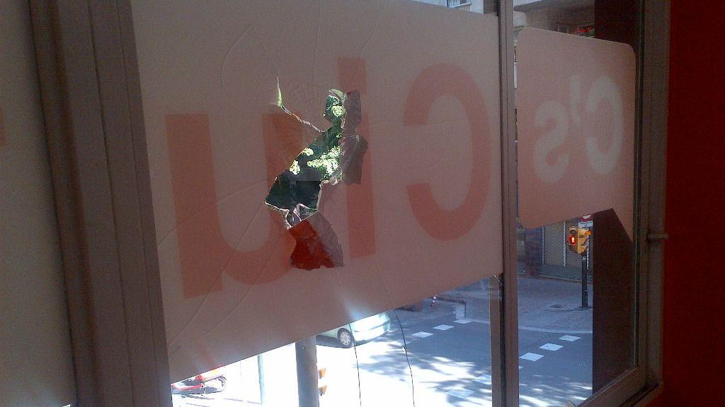 Ataque a sede de Ciudadanos