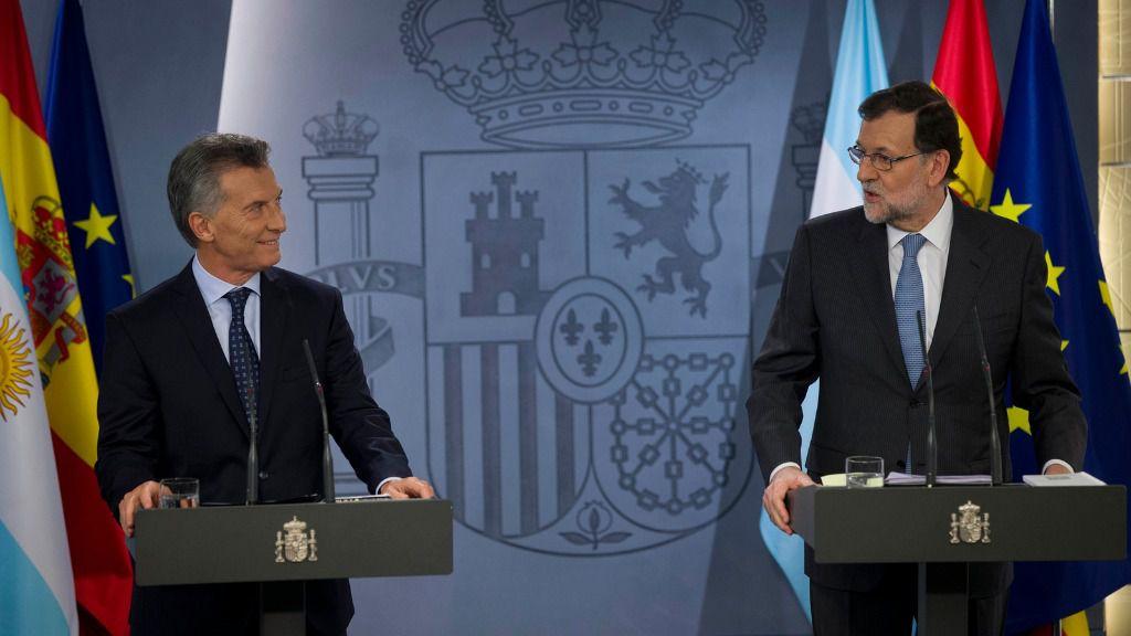Rajoy y Macri se deshacen en elogios sobre el buen momento que vive la relación España-Argentina / Foto: La Moncloa