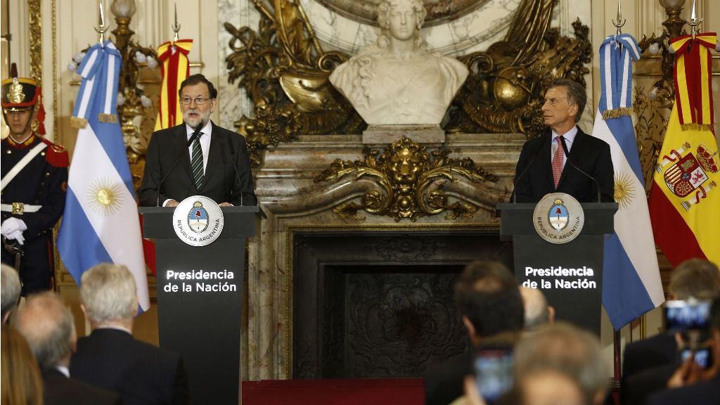 Mariano Rajoy y Mauricio Macri confían en impulsar las relaciones económicas / Foto: La Moncloa