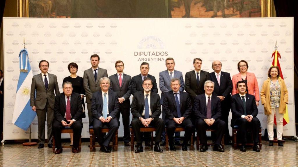 """España destaca el interés en potenciar los lazos económicos con la """"nueva"""" Argentina / Foto: La Moncloa"""