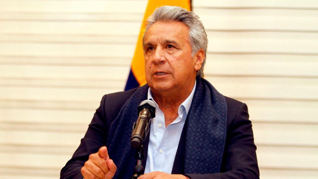 Lenín Moreno regresa a Ecuador desde Lima por el caso de los periodistas secuestrados / Foto: Presidencia Ecuador
