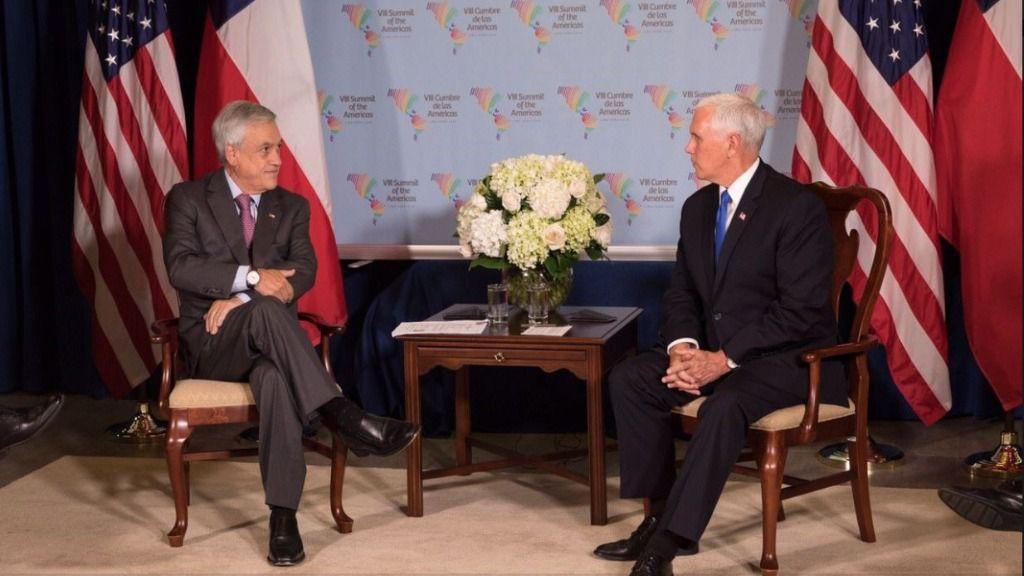 Piñera y Pence