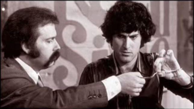 José María Íñigo y Uri Geller
