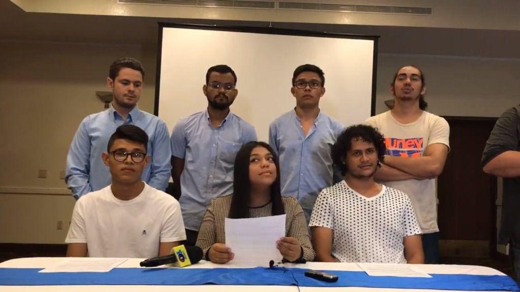 Jóvenes nicaragüenses se alían para dialogar con el Gobierno / Foto: Movimiento Universitario 19 de Abril