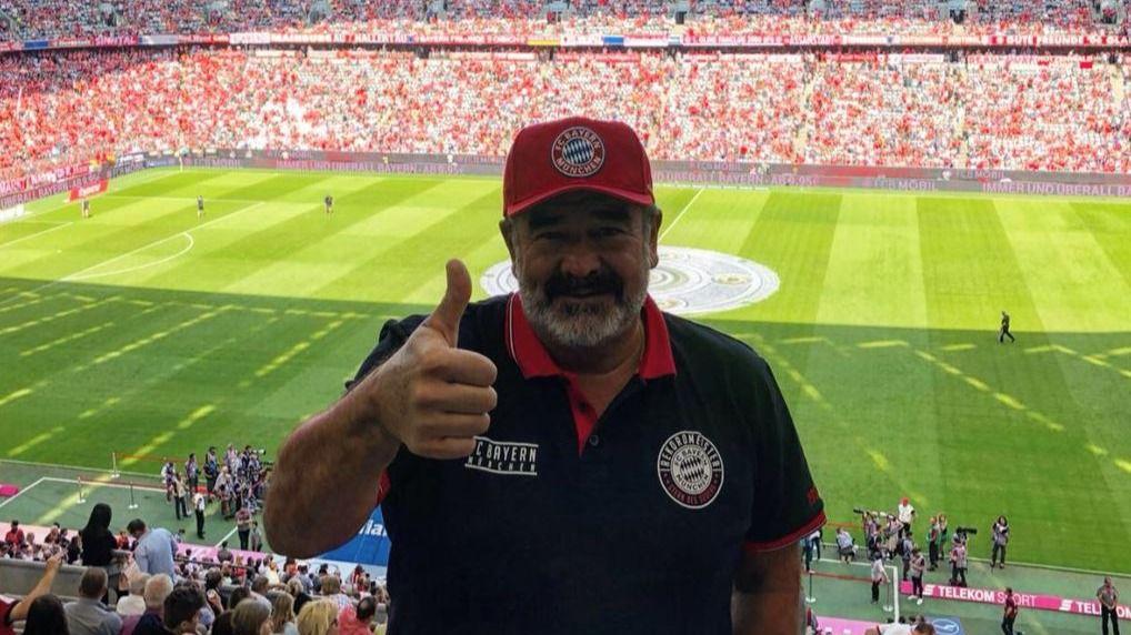 El magnate Andrónico Luksic presume de nieto, equipo de fútbol y de estrenarse en Instagram / Twitter: @aluksicc
