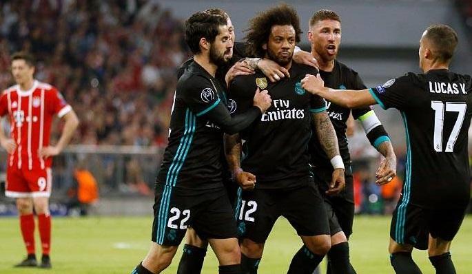 Por el lado de Marcelo está la gran debilidad del Madrid, pero también su gran fortaleza / Foto: Realmadrid.com