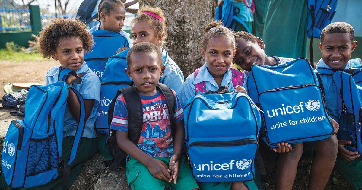 La iniciativa de Unicef está auditada y se desarrolla a través de su filial en Australia / Foto: Unicef