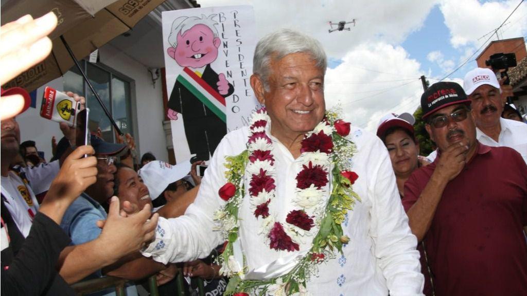 López Obrador muestra una actitud conciliadora / Foto: lopezobrador.org.mx