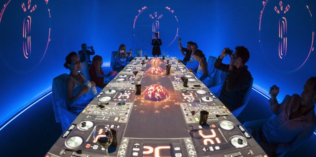 En la mesa de Sublimotion la imaginación no tiene límite / Foto: Sublimotion