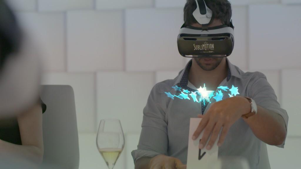 La tecnología lleva la experiencia a otros niveles / Foto: Sublimotion