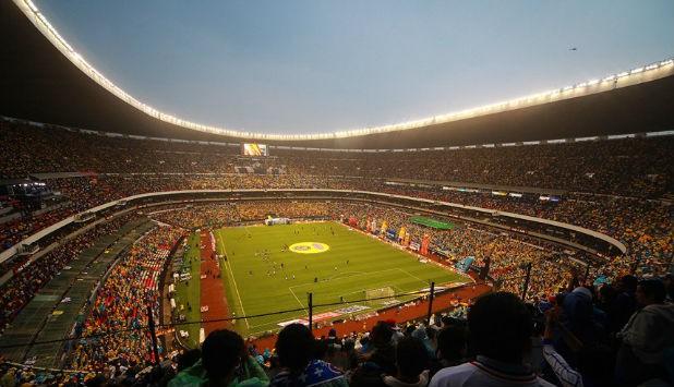 El Estadio Azteca es uno de los campos de fútbol más grandes de América / Foto: Wikimedia