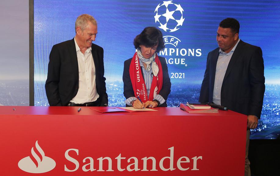 Banco Santander patrocinará la Champions League la próxima temporada / Foto: Santander