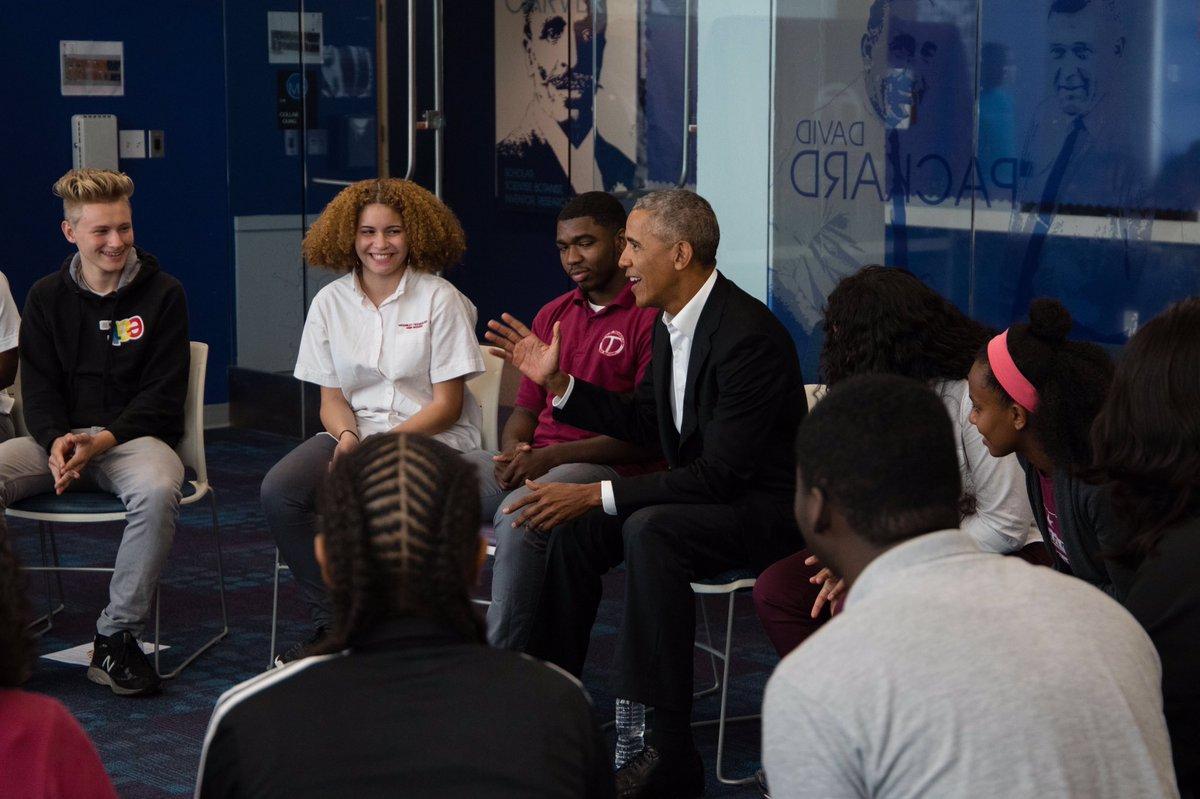 Obama encomendó su campaña de 2008 a jóvenes de 20 años / Foto: @barackobama