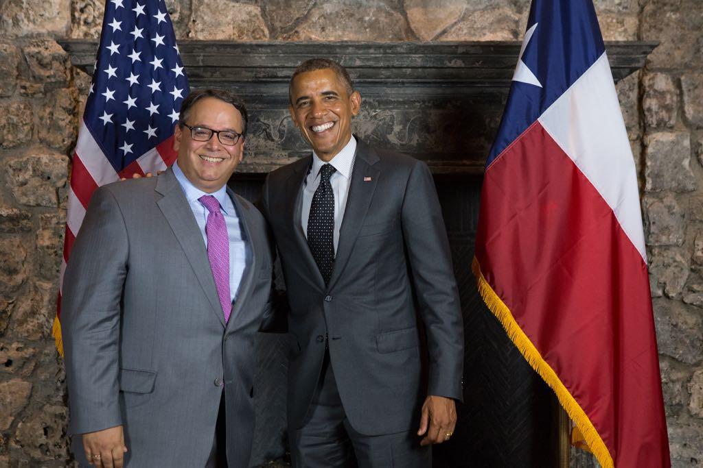 """Leopoldo Martínez recuerda que las sanciones son """"herramientas"""" que vienen desde Obama / Foto: ALN"""