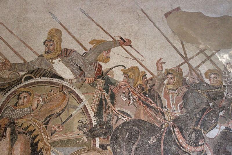 ¿Y si Alejandro Magno hubiese movilizado de manera distinta a sus tropas en Grecia? / Foto: Wikipedia
